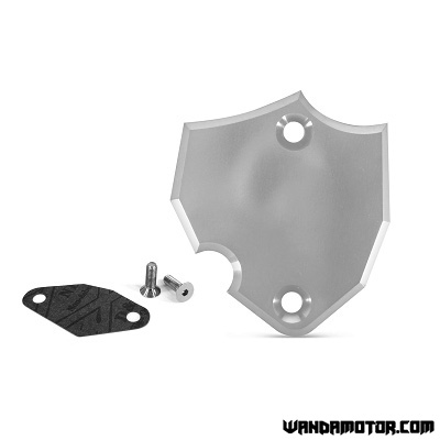 Minarelli AM6 oil pump cover silver