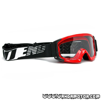 NoEnd 3.6 Series kids goggles red