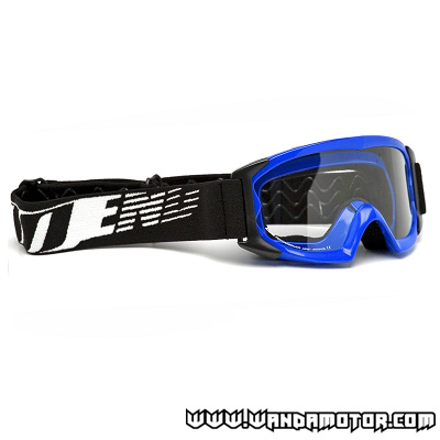 NoEnd 3.6 Series kids goggles blue