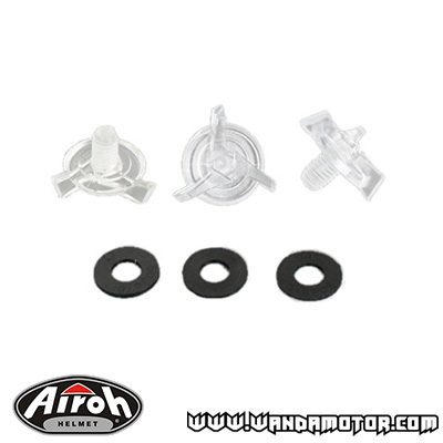 Airoh helmet peak screw kit Aviator 2.1 / 2.2 / Twist