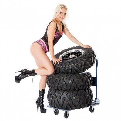 Tires and wheel kit