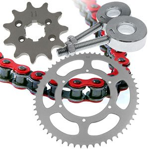 Chains, sprockets