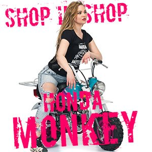 Shop in shop Honda Monkey