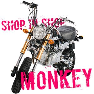 Shop in shop Monkey