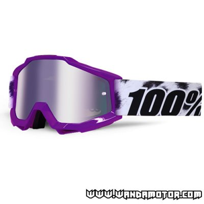 Goggles 100% Accuri Junior Cheetah silver