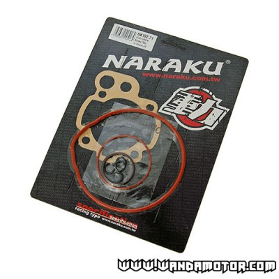 Gasket kit top end Naraku AM6 70cc