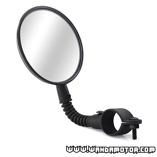 Moped mirror bendable, wide angle