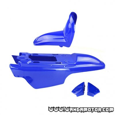Yamaha PW50 Air 2T bodywork kit (4 parts) blue