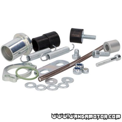 Exhaust mounting kit Tecnigas E-Nox Senda