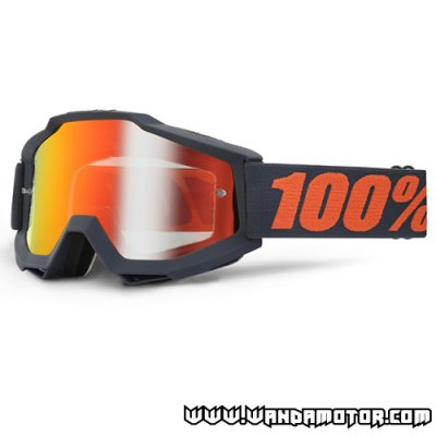 Goggles 100% Accuri Gunmetal red