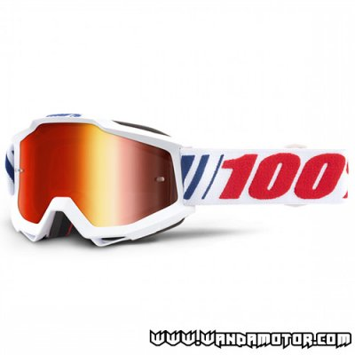 Goggles 100% Accuri AF066 mirror red