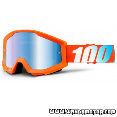 Goggles 100% Strata Orange blue