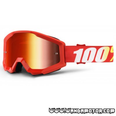 Goggles 100% Strata Furnace red