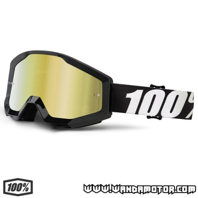 Goggles 100% Strata Outlaw gold