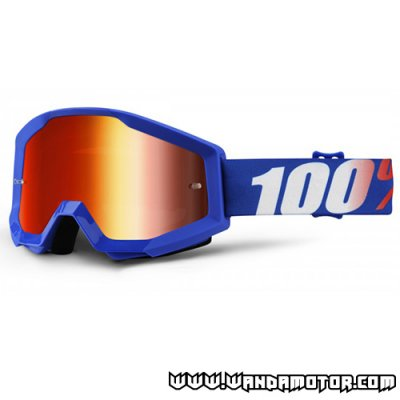 Goggles 100% Strata Nation red
