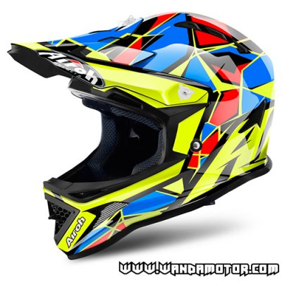 Airoh Archer helmet Chief Blue Gloss 2XS