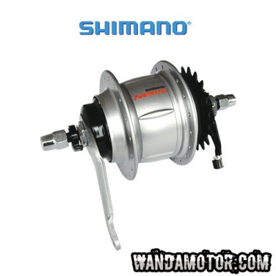 Rear pivot 8v Shimano Inter (without lever)