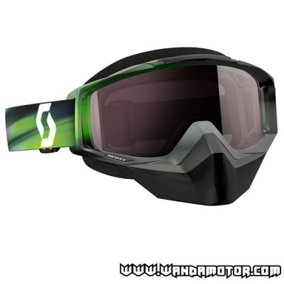 Scott Tyrant Speed goggles grey/green silver