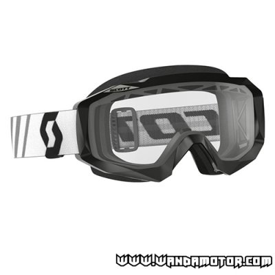 Scott Hustle MX goggle black/clear