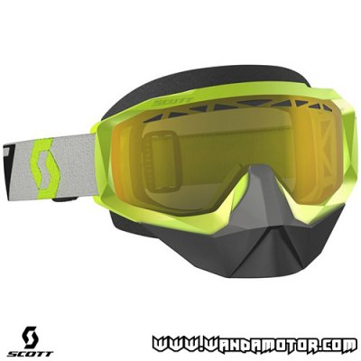 Goggles Scott Hustle X SX yellow/grey