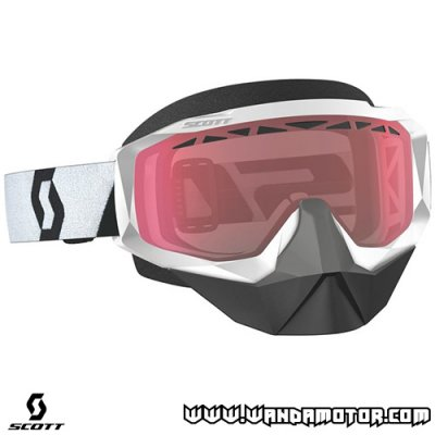 Goggles Scott Hustle X SX white/red