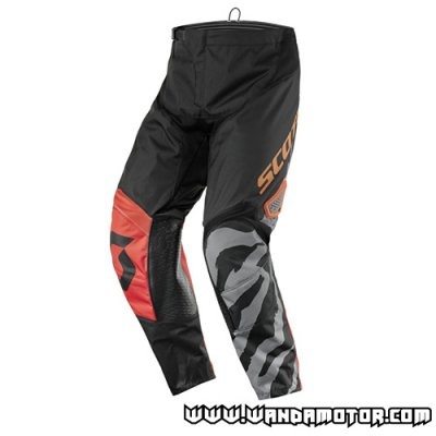 Scott 350 Race Kids pant black/orange 22