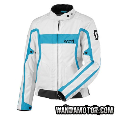 Scott Ed VTG TP jacket white/cyan 42