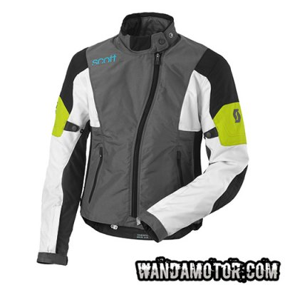 Scott Technit TP women's jacket grey/lime 38