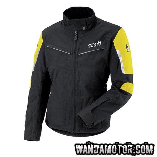 Scott Turn naisten takki musta keltainen 44 3fa94ceb9b