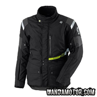 Scott Turn TP jacket black/grey D-size L
