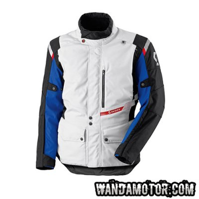 Scott Turn TP jacket light grey/blue L