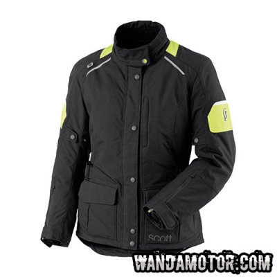 Scott Turn DP W's jacket black/yellow 36