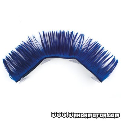 Mohawk for helmets blue