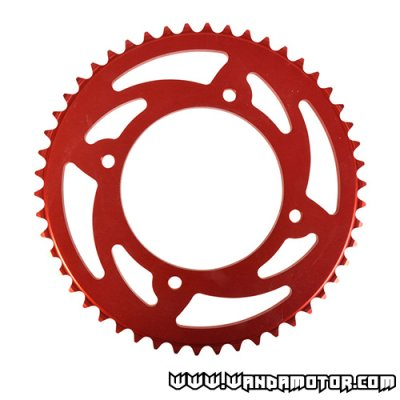 Rear gear 58z Beta RR alloy red