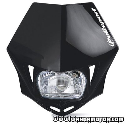 Headlight mask Polisport MMX black