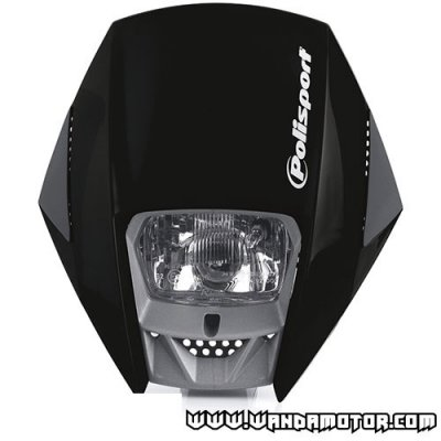 Headlight mask Polisport Exura black
