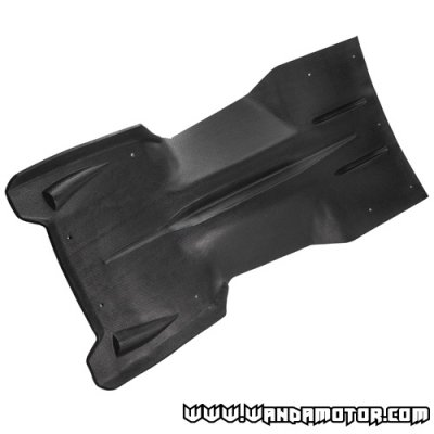 Skid plate Ski-Doo Rev '04-06 black