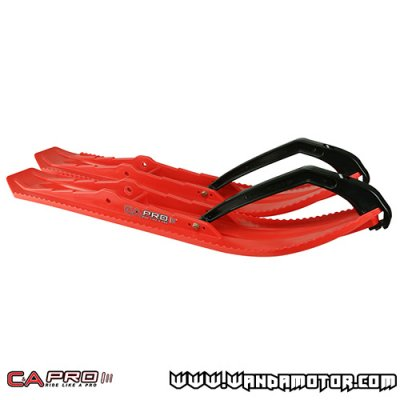 C&A Pro BX ski pair red