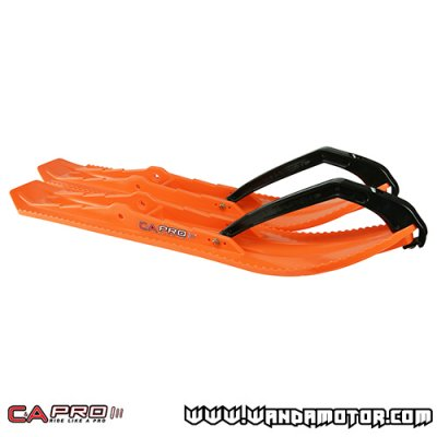 C&A Pro BX ski pair orange