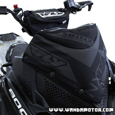 Skinz windshield bag Polaris Pro RMK black