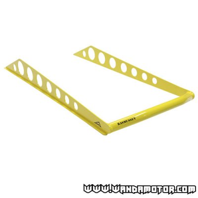 "Skinz rear bumper Ski-Doo Rev 163"" Rasmussen yellow"