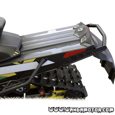 "Skinz rear bumper Ski-Doo Rev XP/XS 120/137"" '08-> black"