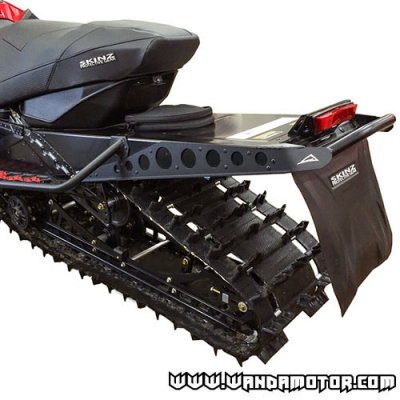 "Skinz rear bumper Arctic Cat M800-1100 '12-> 162"" black"