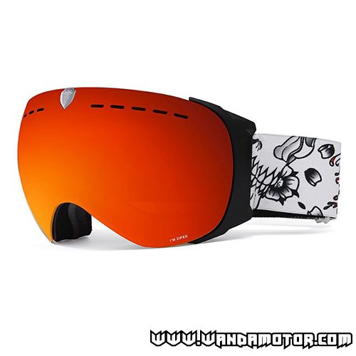 Dr. Zipe Headmaster VII goggles white/red