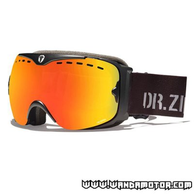 Dr. Zipe Guard VI goggles black/orange