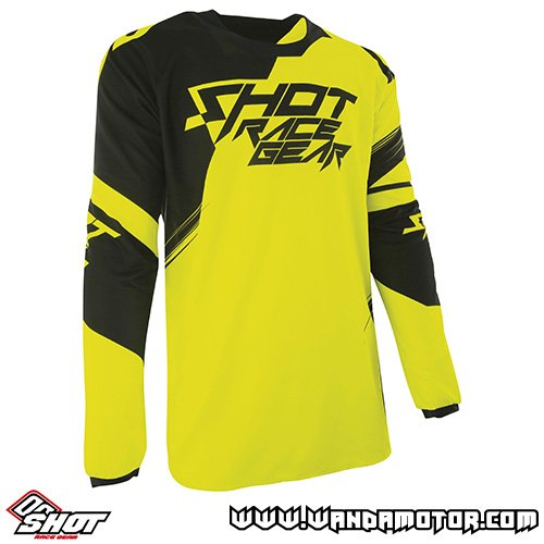 Shot Contact Claw jersey neon yellow XL
