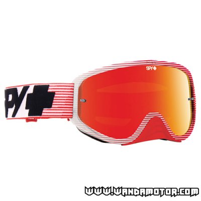 Spy Woot Race goggles Red Flash