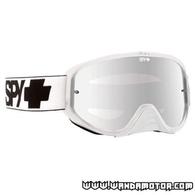 Spy Woot Race goggles White Smoke