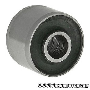 Engine mount rubber / metal bushing 10x28x22