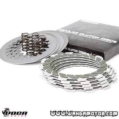 Clutch disc kit Voca Race Derbi Senda